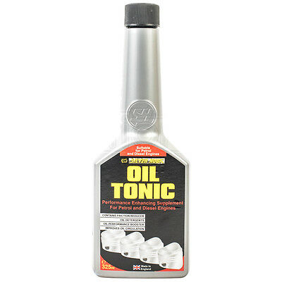 Oil Tonic Treatment Additive Friction Reducer Petrol & Diesel Engine 325ml