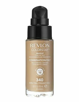 Revlon Colorstay 24 Hours / 24hrs Foundation Early Tan (340) Comb/Oily Skin