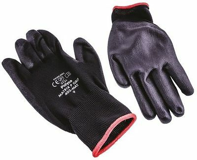 POLYCO Strong Mechanics Gloves Pair Size 9 BAG OF 5