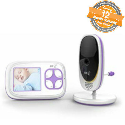 BT Video and Temperature Colour Screen 2 Way Talk Night Vision Baby Monitor 3000