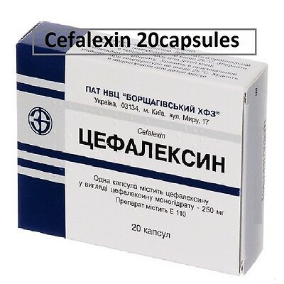Cefalexin Cefalexinum 250mg - 20cps