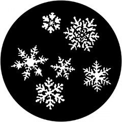DHA Rosco Metal Snowflakes GOBO B (86mm) 238-272