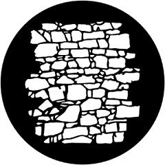 DHA Rosco Metal Dry Stone Wall GOBO B (86mm) 951