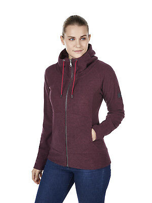 Berghaus Carham Womens Hoody Fleece jumper Jacket - dark purple