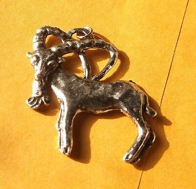 Vintage Charm Astrological Sign Aries the Ram Made in Italy