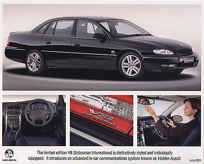 Holden V8 Statesman International Limited Edition Model Press Photograph - 2001