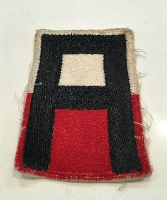 Original WWII U.S. 1st ARMY CUT EDGE FULL COLOR PATCH