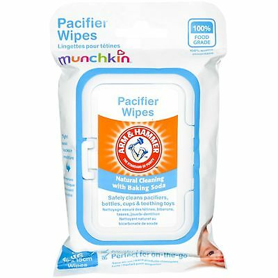 Munchkin Arm & Hammer Pacifier Wipes 36 Wipes 4 in x 6 in Each