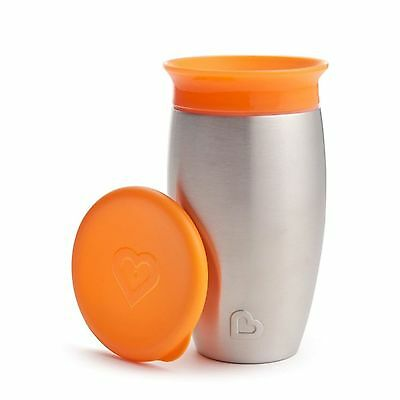Munchkin Miracle 360 Steel Cup 12 + Months 10 oz (296 ml)