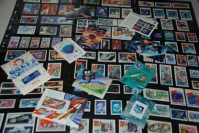 Space Cosmos Huge MNH Collection Stamps, Souvenir Sheets, Russia qq