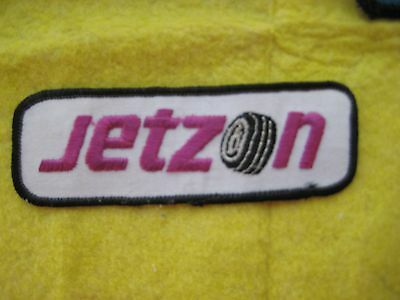 "Vintage Jetzon Tires Uniform Patch 4 3/8"" X 1 1/2"""