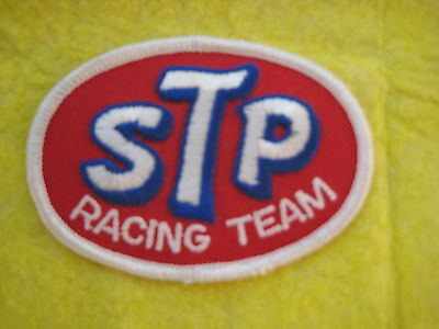 "Vintage STP Racing Team Patch 3 1/4  "" X 2 3/8   """