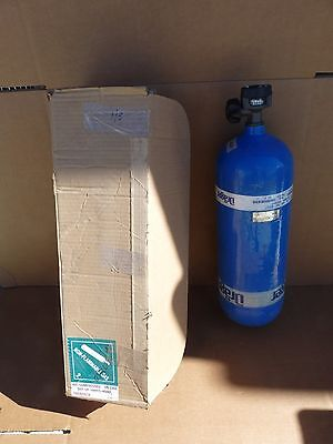 New Drager 3338040 Scba Tank 4500 Psi Dot-Sp-10915 Hydro Tested 45Min