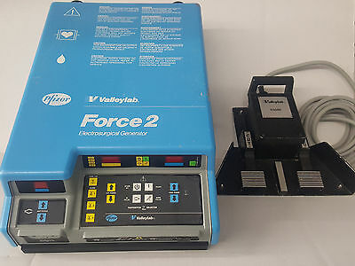 Valleylab Force 2 Electrosurgical Unit With Mono Footswitch