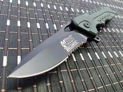 *CAN* Tactical Spring Assisted Blade folding Open Pocket Knife A809GN-MX