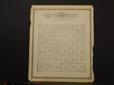 North Dakota Grand Forks County Map Fairfield Township 1927   L6#67