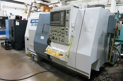 Mori Seiki Model Zl-25A/500 4-Axis Cnc Turning Center