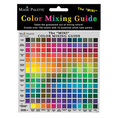 Magic Palette Color Mixing Guide - Studio Mixing Guide MVMA5841