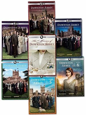 Downton Abbey Seasons 1-6 + The Manners Of Downton Abbey    Bundle