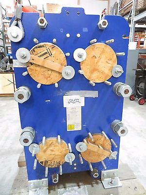 "8"" Alfa Laval TS20-MFG 207.1 SQFT Plate Heat Exchanger 316SS Plates NEW 2013"