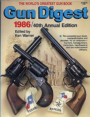 Collector Book Gun Digest 1986  40th Annual Edition