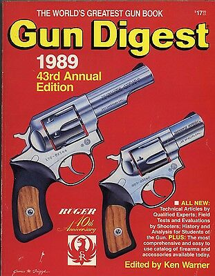 Collector Book Gun Digest 1989  43rd Annual Edition