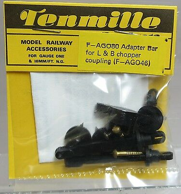 Tenmille Products F-AG080 Adapter Bar for L & B Chopper Coupler