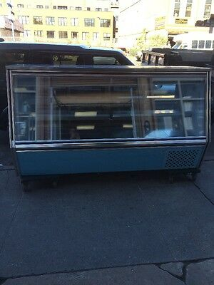 "Leader HDL96-SC 96"" Glass High Deli Case Used"