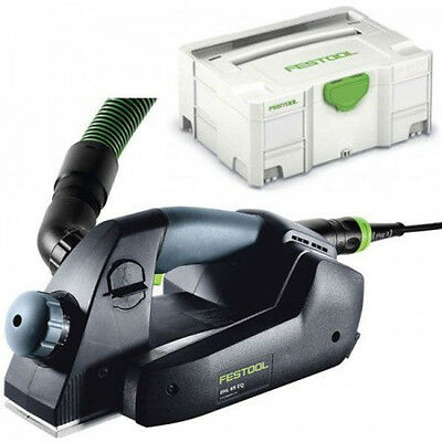 Festool EHL 65 EQ-PLUS GB 240V One Handed Planer in SYS 2 T-LOC Systainer 574560
