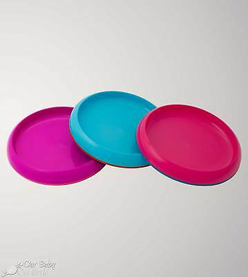 Boon PLATE Non Skid 3 Pack - Girl