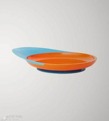 Boon CATCH PLATE with Spill Catcher - Orange-Blue