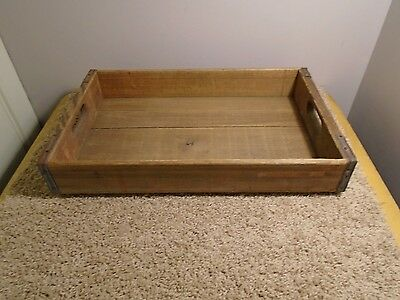 Vintage 1945 Wooden Wood Crate Box, Miller Mfg Co., Richmond, Virginia