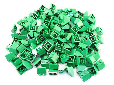 LEGO Green Slope 45 2x2 Lot of 100 Parts Pieces 3039