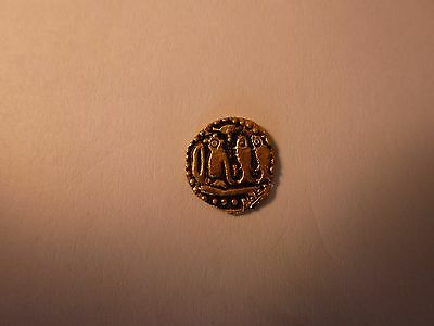 Medieval Indian Gold Coin of Chola Dynasty AD 1010-1200