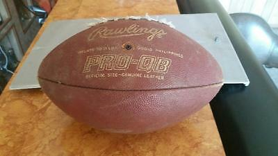 Rawlings PRO- QB Vintage Football Official Size Genuine Leather FREE SHIPPING