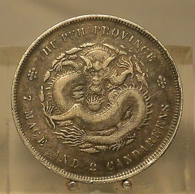 1895-1907 China (Hupeh Province) Silver Dollar, Old World Silver Coin