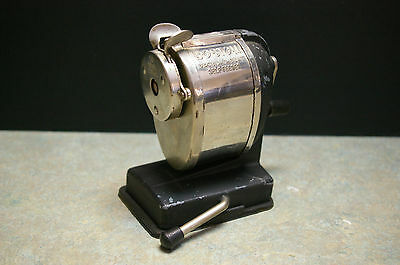 Vintage 'boston' Vacuum Mount Self Feeder Pencil Sharpener