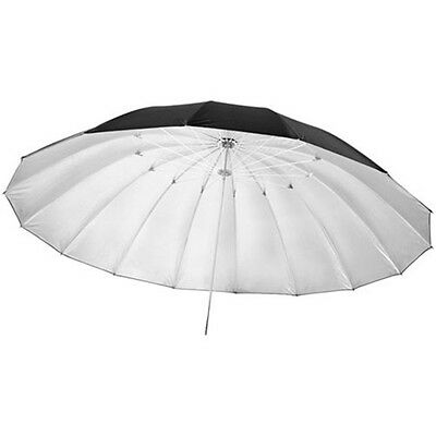 "57"" Black/Silver Reflective Studio Photo Umbrellas for Softbox Flash Lighting"