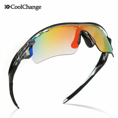 0d3464e67d Outdoor Polarized Cycling Sunglasses Eyewear Sports Glasses Bike Goggles 5  Lens