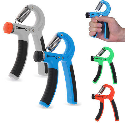 Adjustable Hand Gripper Forearm Exerciser Heavy Grip Strength Training Tool 2017