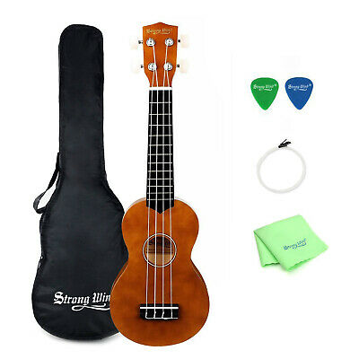 21 Inch Soprano Ukulele Beginners Acoustic Musical Instrument Starter Kit