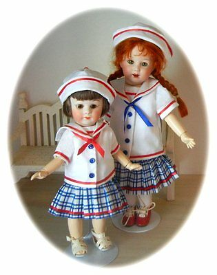 Loulotte & Bleuette 1949 Marin  Pattern In 2 Sizes!!