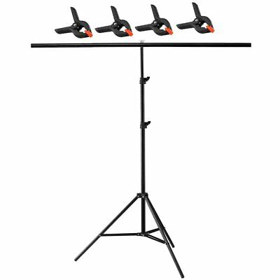 200x200cm 2m  T Backdrop Stand Metal PVC Background Photography Support System