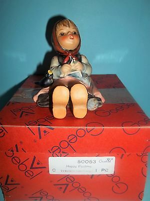 """""""Happy Pastime"""" Hummel Figurine #69 About 3 1/2"""" TMK5 with Box"""
