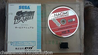 Sega Naomi Spikers Battle Gd Rom.