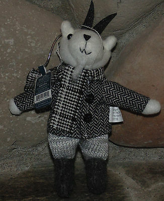 TARGET Exclusive Darling Plush Mountain GOAT in Suit ORNAMENT MWT New