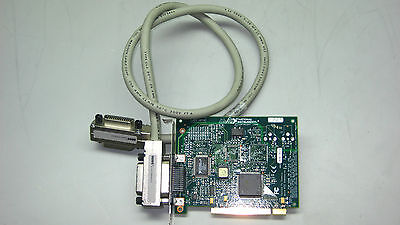 National Instruments PCI-GPIB 183617H-01 Interface Card W/ 40'' Cable  #TQ112