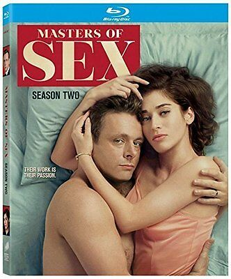 Masters of Sex: Season Two (Blu-ray + Digital HD, 2015, 4-Disc Set, Canadian) 2