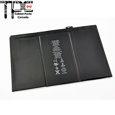 Replacement Battery for iPad 3 & 4 / 3rd 4th Gen 616-0591/0604/0592 11560mAh