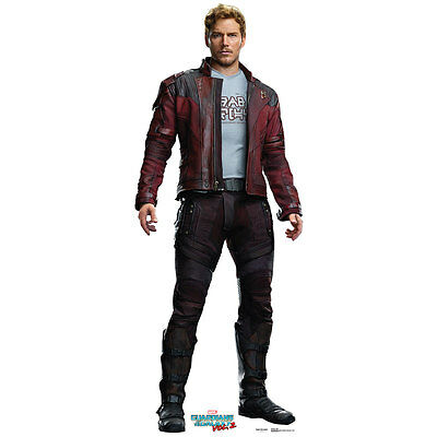 PETER QUILL STAR-LORD Guardians of the Galaxy 2 CARDBOARD CUTOUT Standup Standee